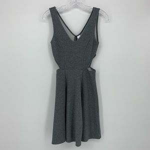 Divided H & M Mini Dress with Cutouts.  Size 2.